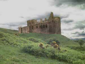 Can never get enough of old Crichton Castle