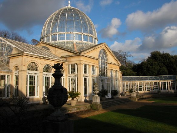 Syon Park's conservatory to hold beautiful plants for the Duke of Northumberland (taken by Phill Brown - Creative Commons Attribution-Share Alike 2.0 Generic license)