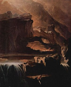 John Martin's Sadak in Search of the Waters of Oblivion (1812)