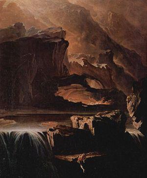 John Martin's Sadak in Search of the Waters of Oblivion (1812)