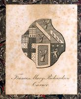 Miss Currer's bookplate