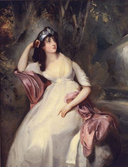 Sally Siddons, a hoyden in some books, by Thomas Lawrence