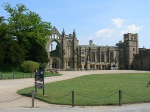 Newstead Abbey, photo by Andy Jakeman, licensed under the Creative Commons Attribution-Share Alike 2.0 Generic license
