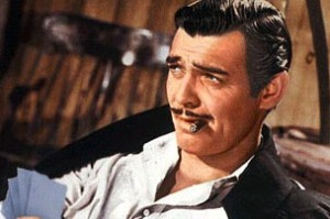 """It's hard to be strict with a man who loses money so placidly,"" said a Yankee guard of his prisoner, one Rhett Butler"