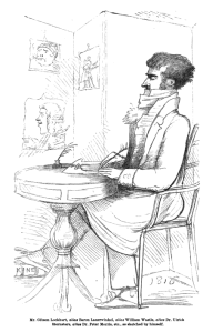 John Gibson Lockhart as himself