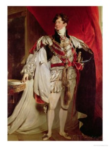 The Prince Regent, by Lawrence. Someone once said he looks like Ted Koppel.