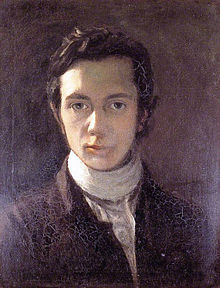 A self-portrait of young Hazlitt, sans pimples