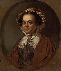 Mary Russell Mitford, who won the lottery as a child, the fortune later gambled away by her Papa
