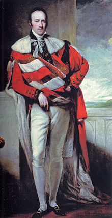 Robert Grosvenor, 1st Marquess of Westminster--he looks good in red, too