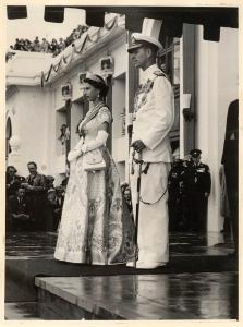 Elizabeth II and the Duke of Edinburgh - 1954