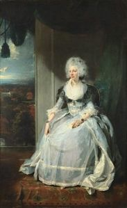 It was said by contemporaries that this Lawrence portrait of George III's Consort bore a remarkable likeness to her.