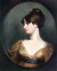 """..more beautiful than her mother."" Maria Siddons by Lawrence"