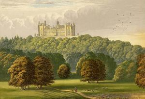 The fourth and present Belvoir Castle--the second notably the site of alleged witchcraft, and the death of the Duke's sons.