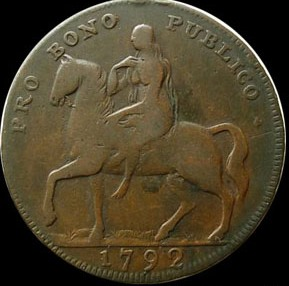 the Coventry half-penny