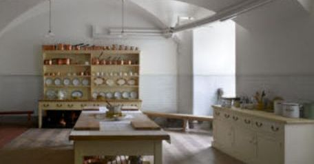 The restored kitchen at Ickworth House in Suffolk and all those drawers