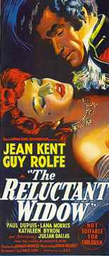 The Reluctant Widow 1950 film adapted from Georgette Heyer's novel of the same title
